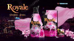 Pengharum pakaian Royale Parfum Series Pink Satin